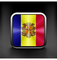 Sovereign state flag of country of Andorra in vector image