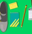 Typical student Stuff vector image