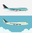 airbus civil aviation plane vector image
