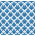 Blue and white seamless volume texture vector image vector image