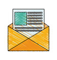 business office icon vector image vector image