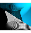 Decorative abstract design vector image vector image