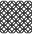 Interlocking intersecting circles rings