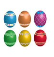 peaster egg vector image vector image