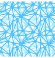 Blue neural net seamless pattern vector image