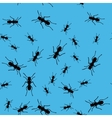 Ant insect seamless pattern 669 vector image