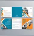 brochure design 773 vector image vector image
