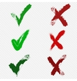 check marks vector image