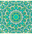 cute ink tribal ethnic festive abstract floral vector image
