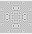 Design monochrome mosaic pattern vector image