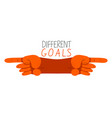 different goals opposite aspirations conflict
