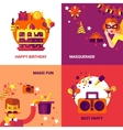Party Design Concept Set vector image vector image