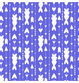 simple hearts pattern background purple seamless vector image
