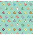 high heels pattern vector image