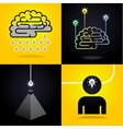 set of ideas vector image