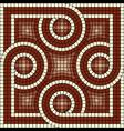 antic mosaic vector image vector image