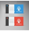 flat UI design trend set business vector image