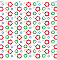 gear pattern background vector image