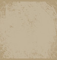 grunge scratched distressed background texture vector image vector image