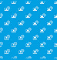 laptop and and wireless pattern seamless blue vector image vector image