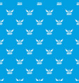 Sheriff pattern seamless blue