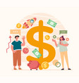 successful business making money team start up vector image