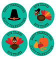 thanksgiving icon graphics vector image vector image