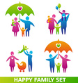 HappyFamilySet vector image