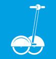 alternative transport vehicle icon white
