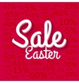 Easter Sale poster Sale poster Holiday sale vector image vector image