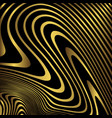 golden zebra background vector image