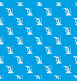 phoropter pattern seamless blue vector image vector image
