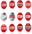 STOP NEW resize vector image vector image