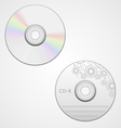compact disk vector image vector image