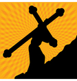 Cross of Life vector image