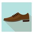 men shoe 02 vector image vector image