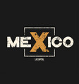 mexico la capital t-shirt and apparel design with