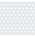 seamless hexagons honeycomb pattern vector image vector image