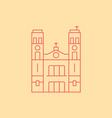 St John s Basilica vector image vector image