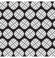 stylish black and white geometric graphic pattern vector image vector image