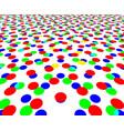 cmyk imprint halftone design vector image