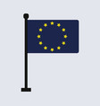 europe flag vector image