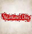for Valentines day vector image vector image