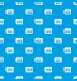 planning pattern seamless blue vector image vector image