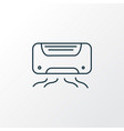 air conditioner icon line symbol premium quality vector image