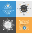 Alcoholic beverage icons vector image