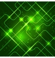 Bright technology background for your business vector image vector image