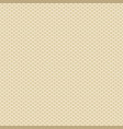knitted beige pattern vector image vector image