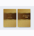 luxury premium design background brochure vector image