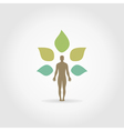 Person a plant vector image vector image